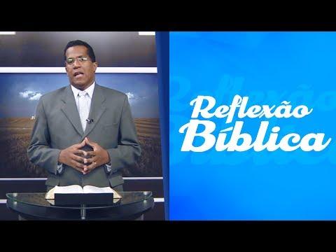 Reflexão - REFLEXÃO BÍBLICA  Ev. Shóstenes Pereira - JESUS É A RESSURREIÇÃO E A VIDA
