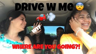 FIRST TIME DRIVING WITH MY MOM! *SHE HIT ME!*