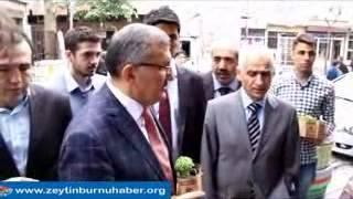 Başkan Murat Aydın Yeşiltepe'de Fesleğen dağıttı