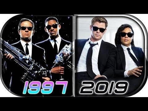 EVOLUTION of MEN IN BLACK 🕶 Movies (1997-2019) Men In Black: International Full Movie trailer scene