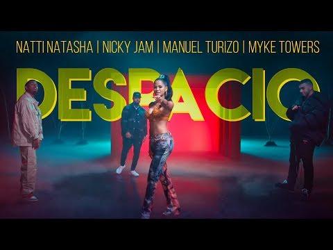 Despacio - Natti Natasha Ft Nicky Jam, Manuel Turizo y Myke Towers