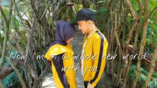 Video A Whole New World || Fikoh Fomal || Video by Fandrijeii || Music by Bramantiasto Adjie MP3, 3GP, MP4, WEBM, AVI, FLV Juli 2019