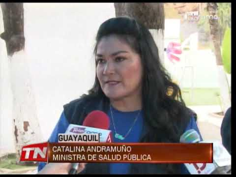 Ministra de salud constató atención en casa Hogar de Guayaquil