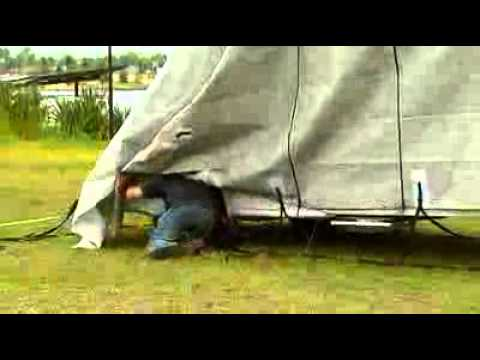 How to fit the RV Caravan Cover
