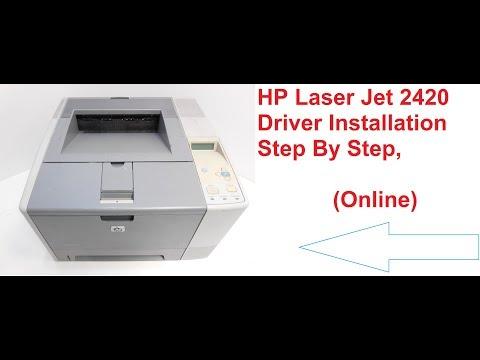 Hp Laserjet 2420 Online Installation In Windows Step  By Step