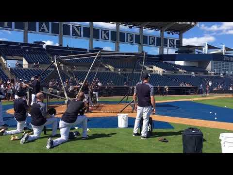 Yankees' Aaron Judge, Giancarlo Stanton BP HRs