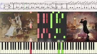 Фантазия на тему Вальсов (Ноты и Видеоурок для фортепиано) (piano cover)