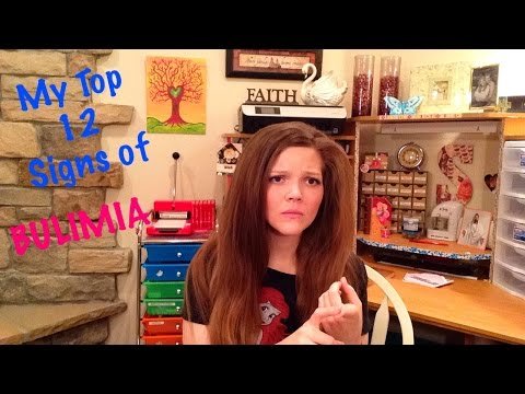 12 Signs of BULIMIA