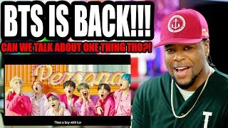 Video BTS - Boy With Luv feat. Halsey' Official MV | Comeback Reaction!!! MP3, 3GP, MP4, WEBM, AVI, FLV April 2019