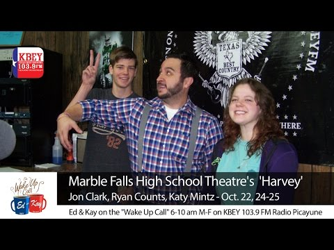 Marble Falls High School Theatre performing 'Harvey' this week
