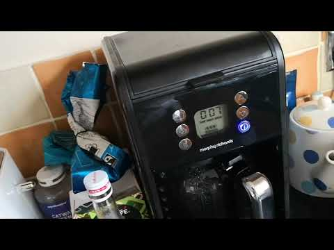 Morphy Richards Accents Coffee Maker Review - Shoddy Unboxings & Reviews