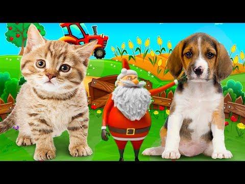 Bé tập nói tiếng anh qua con vật, Hình ảnh và tiếng kêu con vật cho bé, nhạc thiếu nhi cho bé - Thời lượng: 7:06.