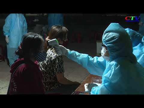 Tiếp nhận 156 công dân về từ nước ngoài cách ly tại Cam Lộ