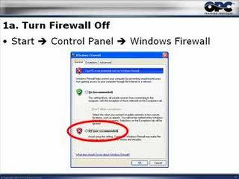 OPC & DCOM – Part 1: Remove Windows Security