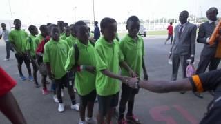 Atmosphere before Equatorial Guinea vs Burkina Faso (21/01) Orange Africa Cup of Nations, EQUATORIAL GUINEA 2015...