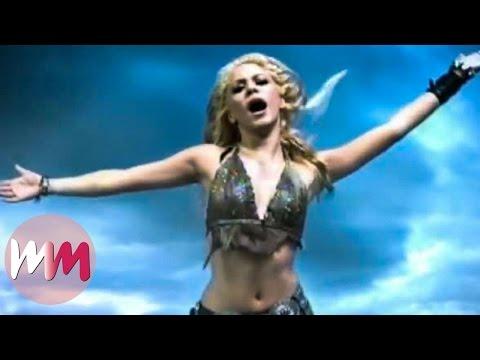 Top 10 Best Shakira Music Videos