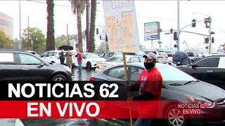 Empleados protestan por falta de recursos – Noticias 62 - Thumbnail