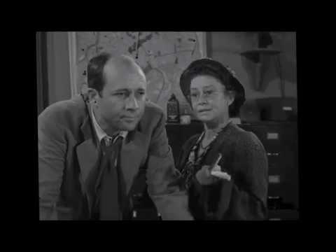 Pickup on South Street (1953) ~ Thelma Ritter/   Willis Bouchey /Richard Kiley