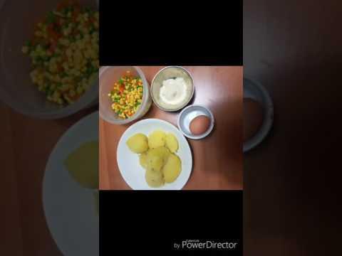 Bastoncini con verdure