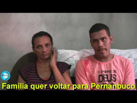 Jales - Família mantida em Jales por um Pastor pede ajuda para voltar à Pernambuco