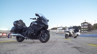 3. 2018 Honda Gold Wing Tour vs. 2018 BMW K1600 Grand America - On Two Wheels