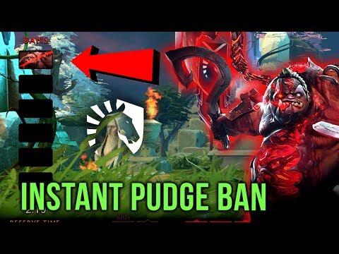 Thats How You Counter Qupe - Instant Pudge Ban by Liquid vs MangoBay - Pro Dota 2