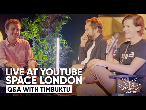 Lemaitre - Q & A w/ Timbuktu - Live at YouTube Space London 2018