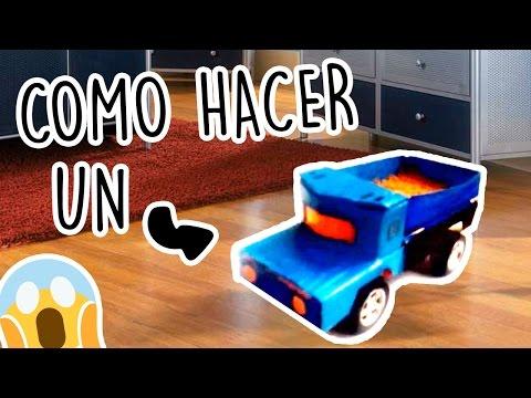 Como hacer Un Camion casero de cartón Para los niños