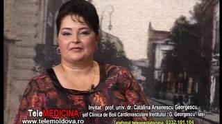 Emisiunea TeleMedicina - Invitata Prof.Univ.Dr. Catalina Arsenescu Georgescu - 27.07.2015