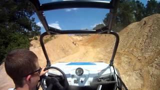 1. 2012 Polaris RZR XP First Ride - Voodoo Blue