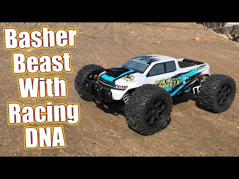 Expert Level Basher Truck! Kyosho Psycho Kruiser VE 2.0 Review & Action | RC Driver