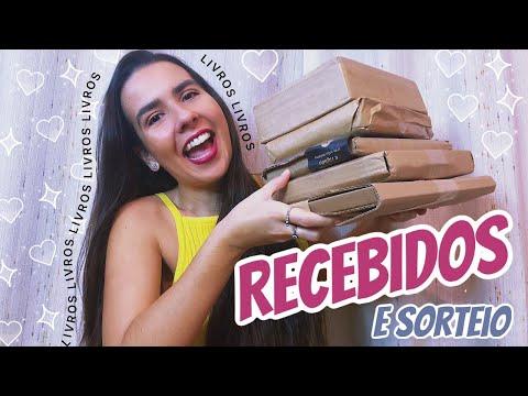 UNBOXING DE RECEBIDOS 📚 (+ SORTEIO) | Ana Carolina Wagner