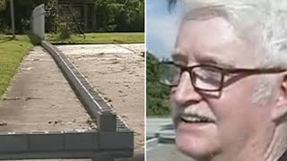Video This Old Man's Neighbor Split Their Driveway With Cinder Blocks – So He Taught Him Some Respect MP3, 3GP, MP4, WEBM, AVI, FLV Oktober 2018