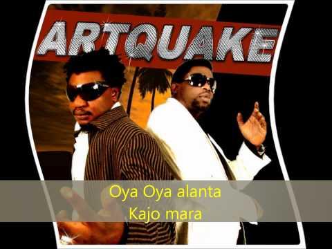 Artquake - Alanta (lyrics)