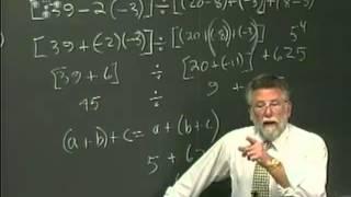 Lecture 12: Math 020 Pre Algebra