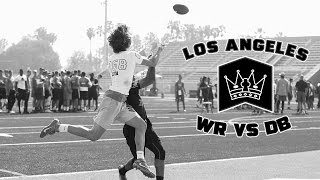 Nike Football's The Opening Los Angeles 2017 | WR vs DB 1 on 1's