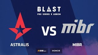 Astralis vs MIBR, Inferno, BLAST Pro Series Lisbon 2018