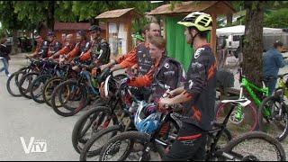 A Segusino è stato inaugurato da poco l\' Eco-Bike-Park