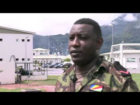 Seychelles Coast Guard team leader talks about uncooperative suspects and importance of teamwork. Exercise Cutlass Express 2013 is a multinational maritime exercise in the waters off East Africa to improve cooperation, tactical expertise and information sharing among East African maritime forces in order to increase maritime safety and security in the region.