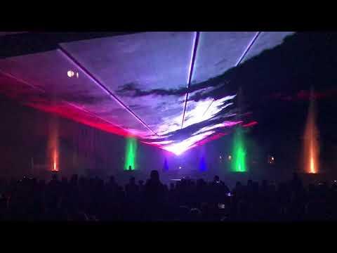 Wideo1: Multimedialny pokaz laserowy podczas Gostyńskiej Nocy Muzeów z Żywiołami