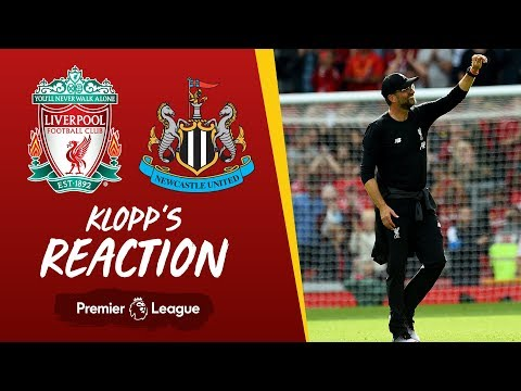 Video: Klopp's reaction: Liverpool v Newcastle | Klopp on Reds' resilience, Firmino & Origi
