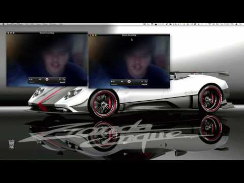 Quicktime X - This video will teach you how to record your desktop screen and yourself through your isight/webcam, how to have multiple isight recording windows, edit your...
