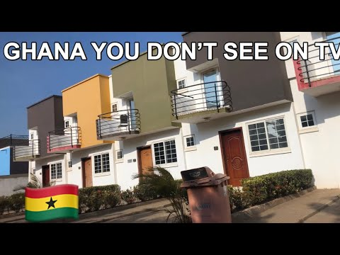 WELCOME TO ACCRA GHANA,BEAUTIFUL AFRICA YOU HAVE NEVER SEEN   Luxury Buildings,Traffic,Busy Streets