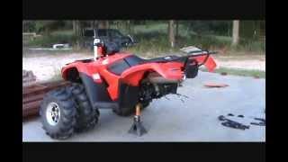 4. Honda foreman S 2012 irs conversion