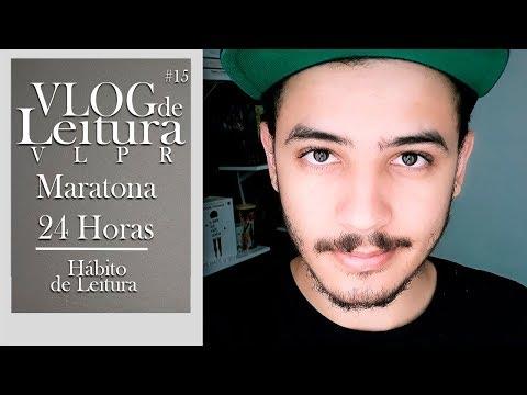 VLOG DE LEITURA: Maratona 24 horas e Hábito de leitura (VLPR #15)   Patrick Rocha
