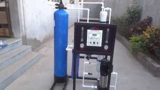 Industrial RO 250 LPH - YouTube