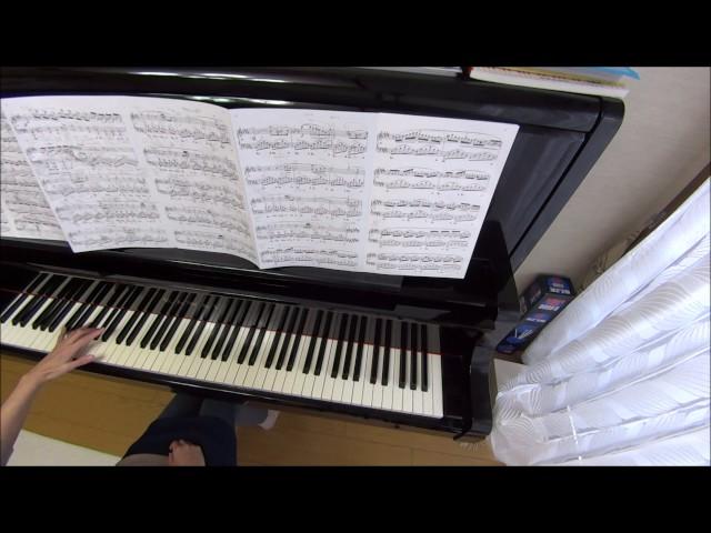 (練習1カ月目)難易度高いショパン「幻想即興曲」を弾いてみた♪