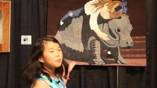 "Long Beach Quilt Festival, Sophie Rubin's ""Kids Eye Review"" #3 - Favorite Animals"