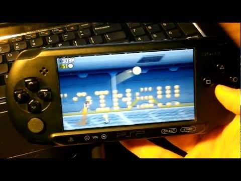 Jetpack Joyride PSP