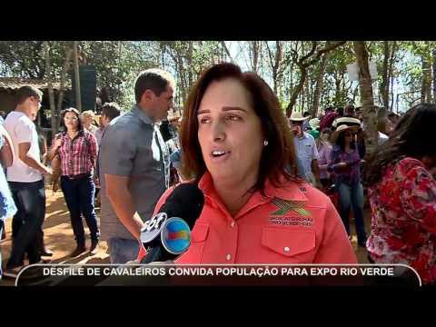 JMD (04/07/17) - Desfile de cavaleiros na Expo Rio Verde